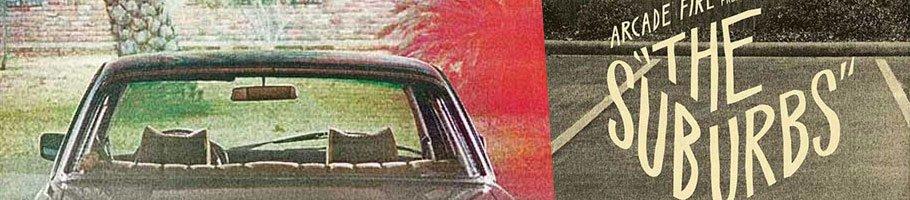 Arcade Fire: The Suburbs Eight Album Covers